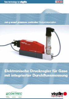 red-y smart pressure controller: the electronic pressure