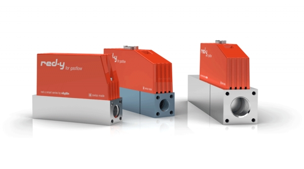 red-y smart: High-tech mass flow controllers and mass flow meters for gases