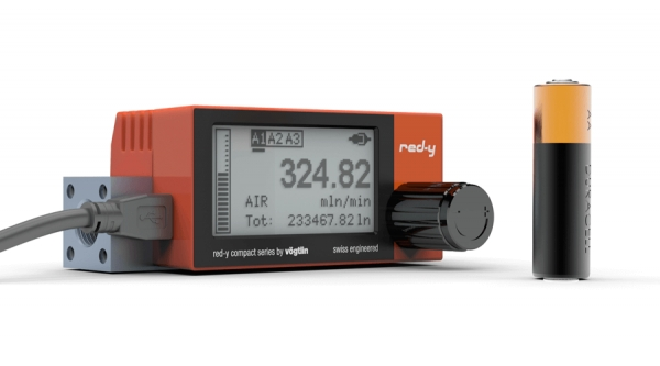 red-y-compact: the independent and innovative mass flow meter for gases