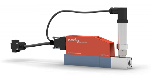 red-y smart pressure controller: the electronic pressure regulator with integrated flow measurement
