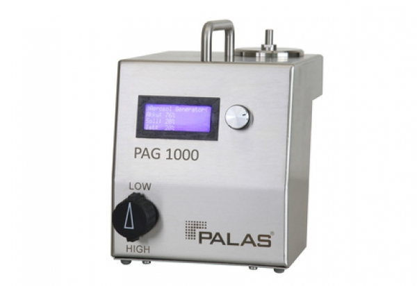 PAG 1000 Aerosol generator with battery operation